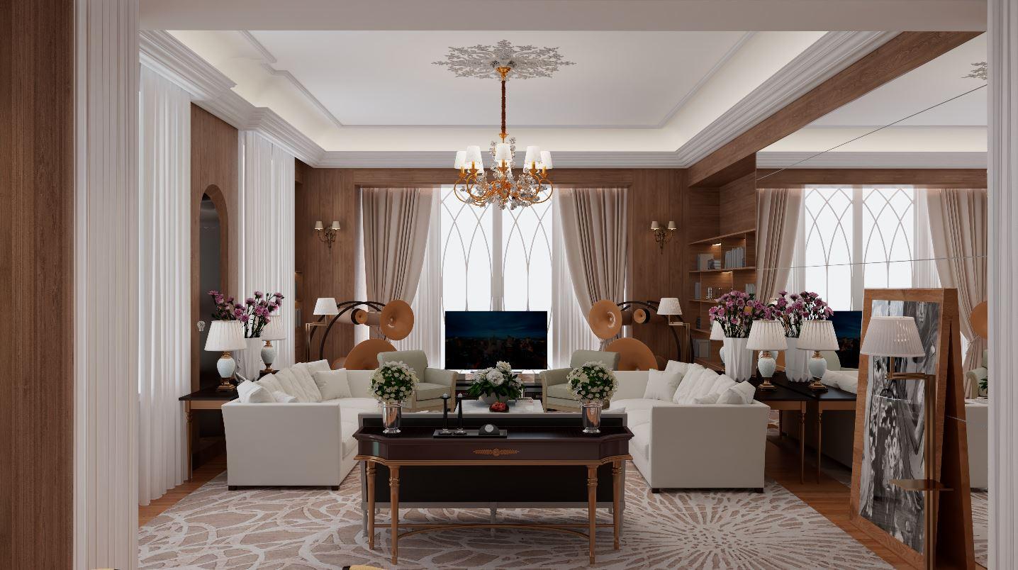 Thiết kế nội thất Chung Cư tại Hà Nội âm hưởng 1626063060 0