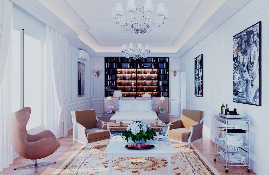 Thiết kế nội thất Chung Cư tại Hà Nội âm hưởng 1626063060 4