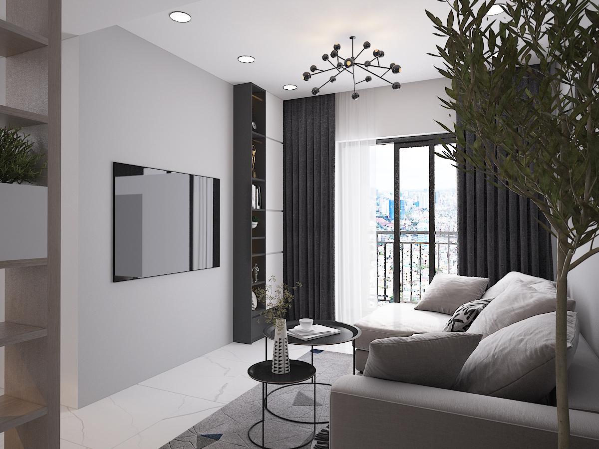 Thiết kế nội thất Chung Cư tại Hồ Chí Minh CĂN HỘ SAIGON SOUTH RESIDENSES - TYPE F 1587109563 3