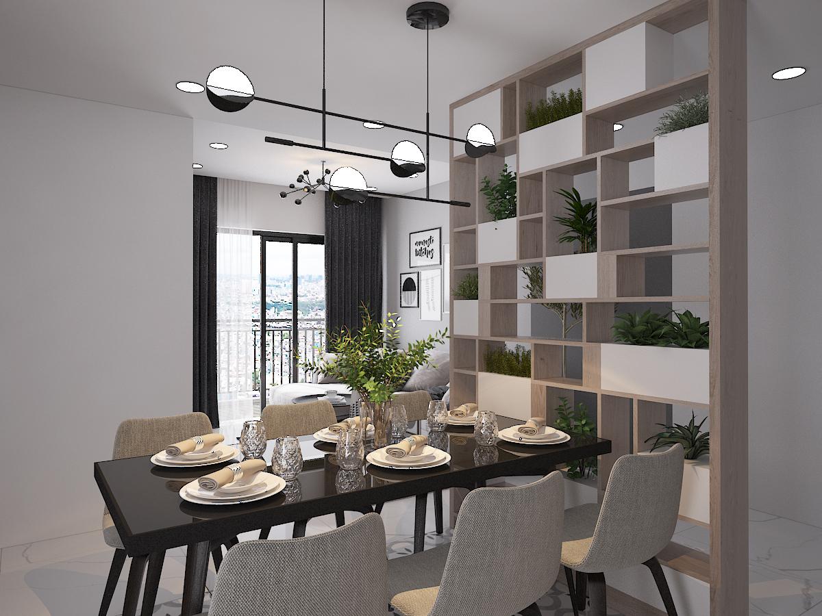 Thiết kế nội thất Chung Cư tại Hồ Chí Minh CĂN HỘ SAIGON SOUTH RESIDENSES - TYPE F 1587109563 7