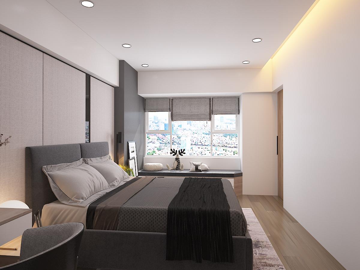 Thiết kế nội thất Chung Cư tại Hồ Chí Minh CĂN HỘ SAIGON SOUTH RESIDENSES - TYPE F 1587109566 11