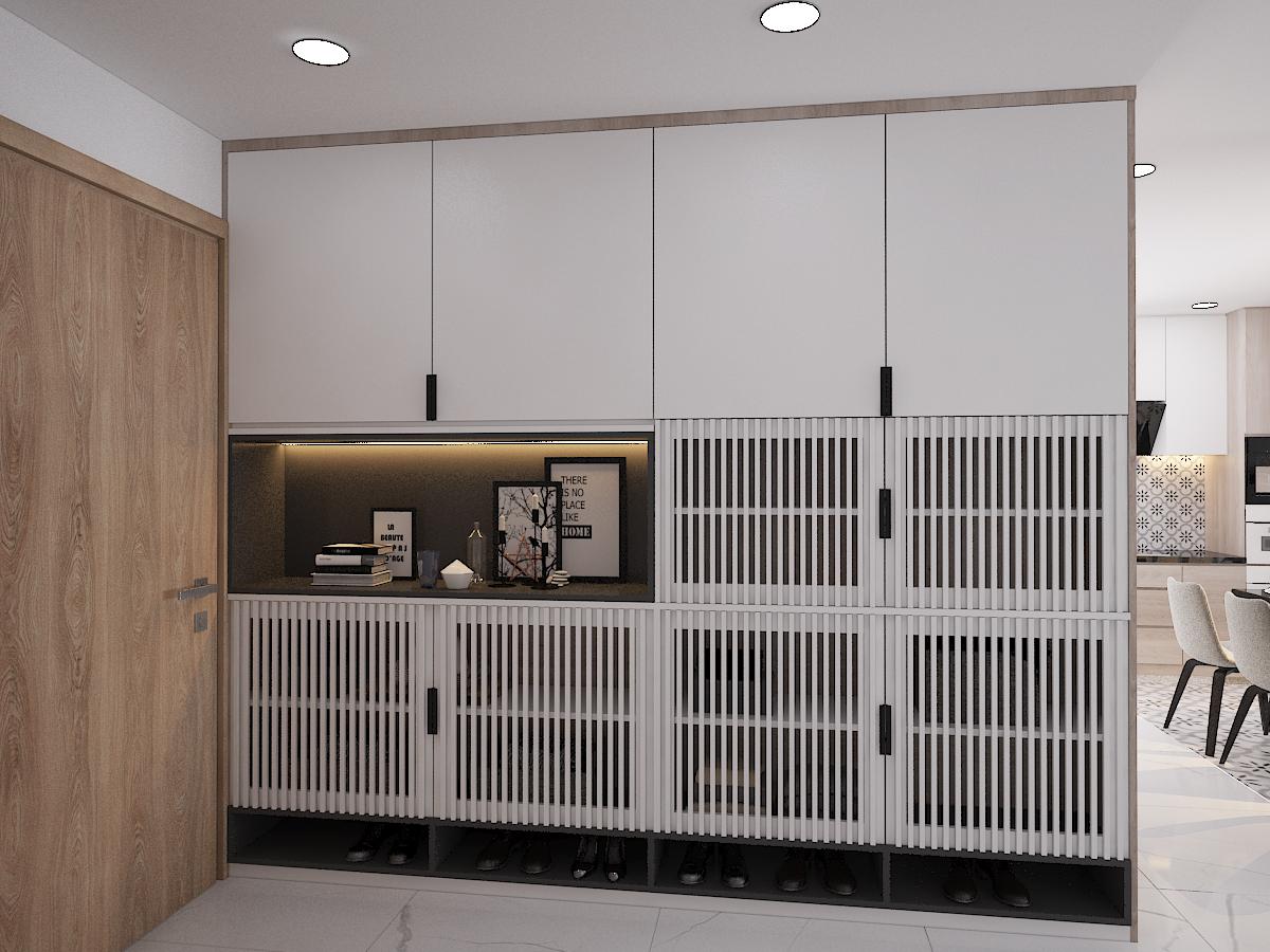 Thiết kế nội thất Chung Cư tại Hồ Chí Minh CĂN HỘ SAIGON SOUTH RESIDENSES - TYPE F 1587109566 8