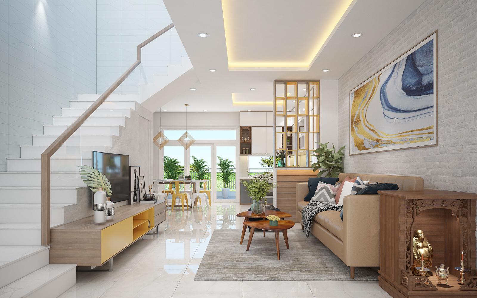 thiết kế nội thất Nhà Mặt Phố tại Hồ Chí Minh CĂN C40 RIOVISTA, PHƯỜNG PHƯỚC LONG B, QUẬN 9 3 1568266467