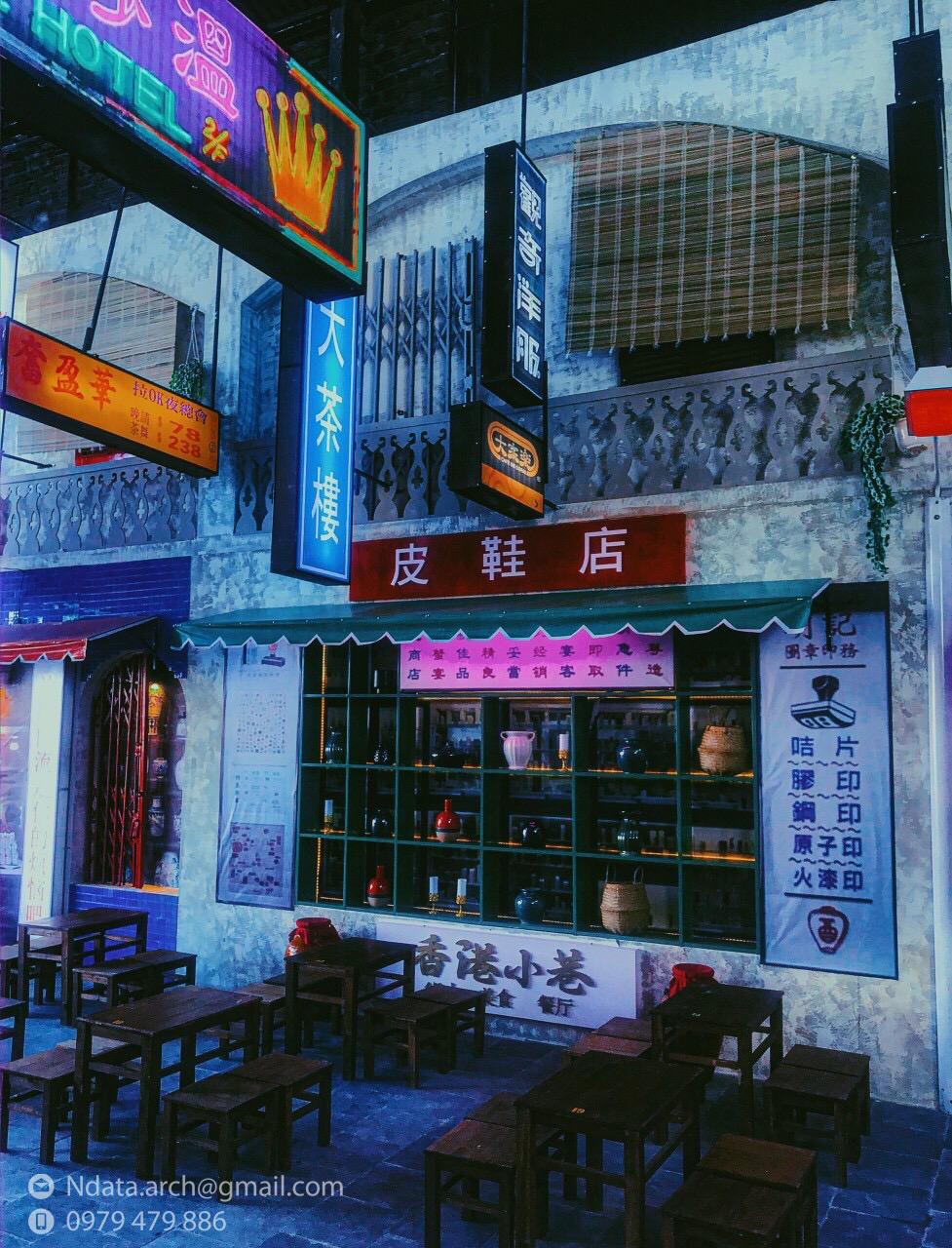 Thiết kế nội thất Cafe tại Khánh Hòa Hẻm phố Hongkong 1580971525 1