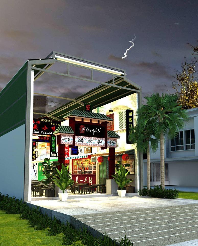 Thiết kế nội thất Cafe tại Khánh Hòa Hẻm phố Hongkong 1580971525 5