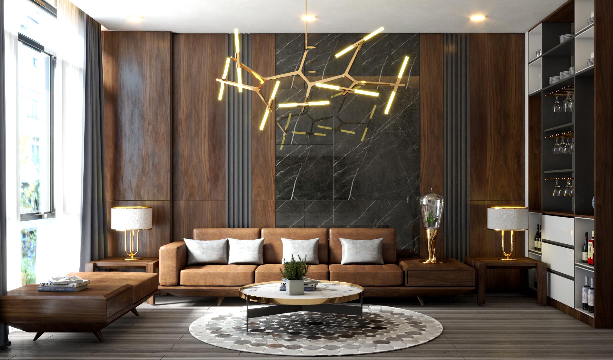 Thiết kế nội thất Nhà Mặt Phố tại Hà Nội cải tạo nội thất nhà phố 1584583716 4