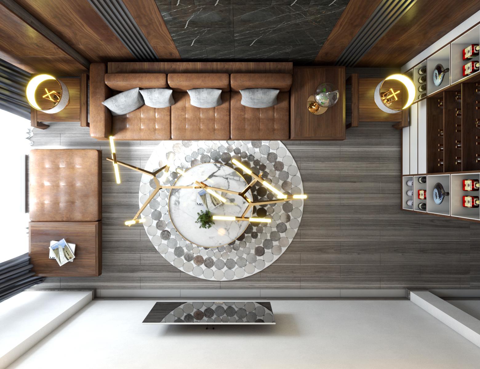 Thiết kế nội thất Nhà Mặt Phố tại Hà Nội cải tạo nội thất nhà phố 1584583716 5