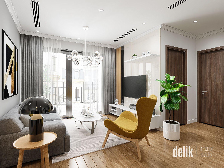 thiết kế nội thất chung cư tại Hà Nội Vinhomes Gardenia 2 1547480172