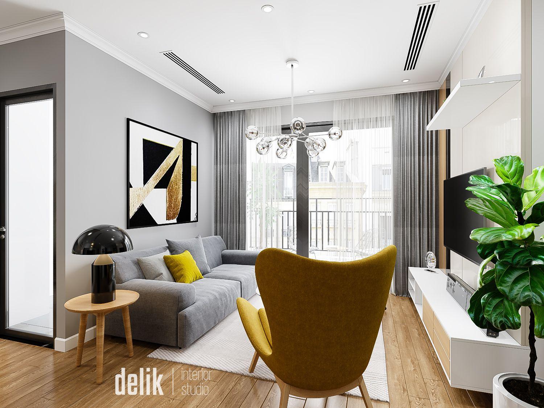 thiết kế nội thất chung cư tại Hà Nội Vinhomes Gardenia 3 1547480172