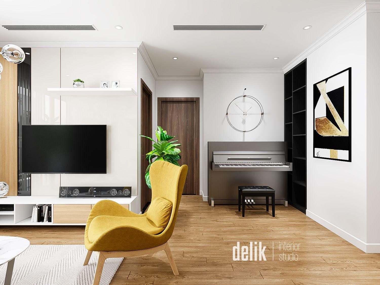 thiết kế nội thất chung cư tại Hà Nội Vinhomes Gardenia 4 1547480173