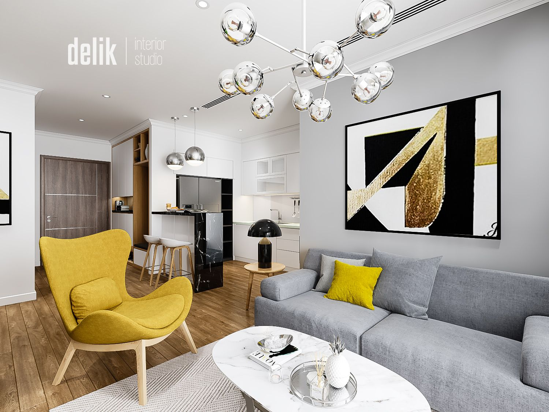 thiết kế nội thất chung cư tại Hà Nội Vinhomes Gardenia 6 1547480174