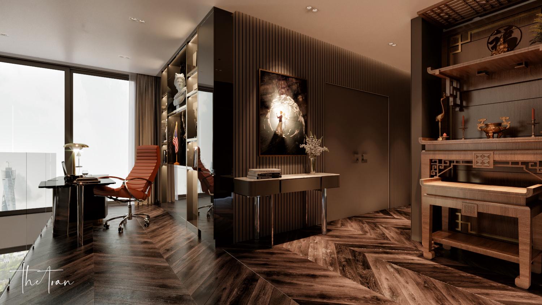 thiết kế nội thất chung cư tại Hồ Chí Minh La Astoria 2 - Penthouse 10 1564743943