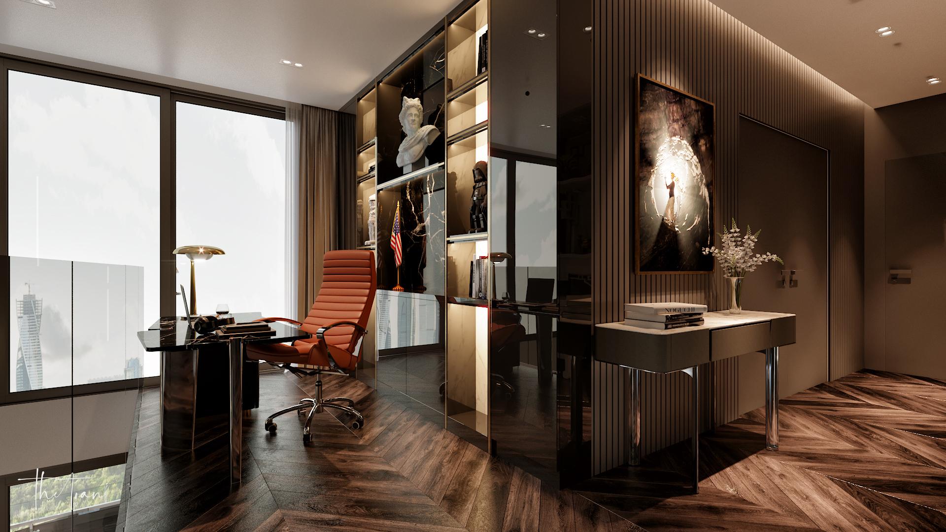 thiết kế nội thất chung cư tại Hồ Chí Minh La Astoria 2 - Penthouse 11 1564743944