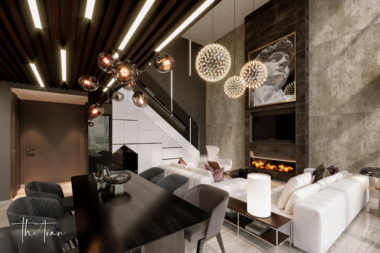 thiết kế nội thất chung cư tại Hồ Chí Minh La Astoria 2 - Penthouse 1 1564743941