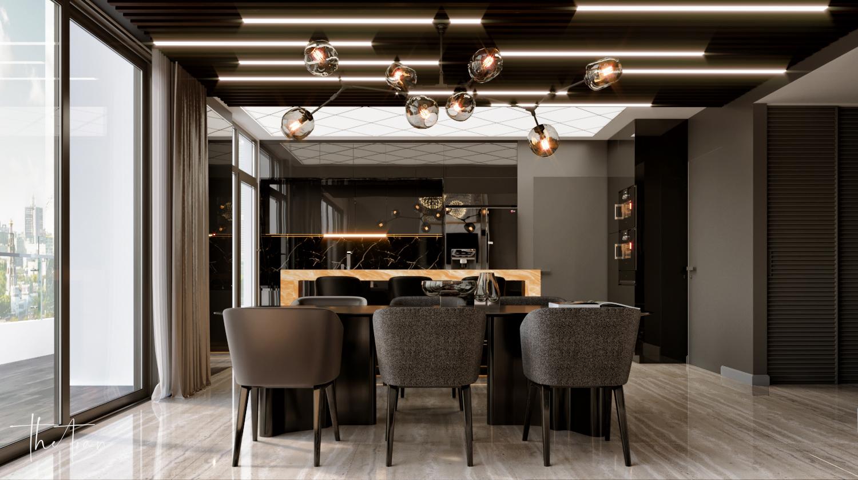 thiết kế nội thất chung cư tại Hồ Chí Minh La Astoria 2 - Penthouse 3 1564743941