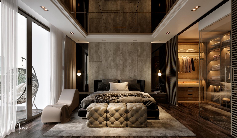 thiết kế nội thất chung cư tại Hồ Chí Minh La Astoria 2 - Penthouse 7 1564743943