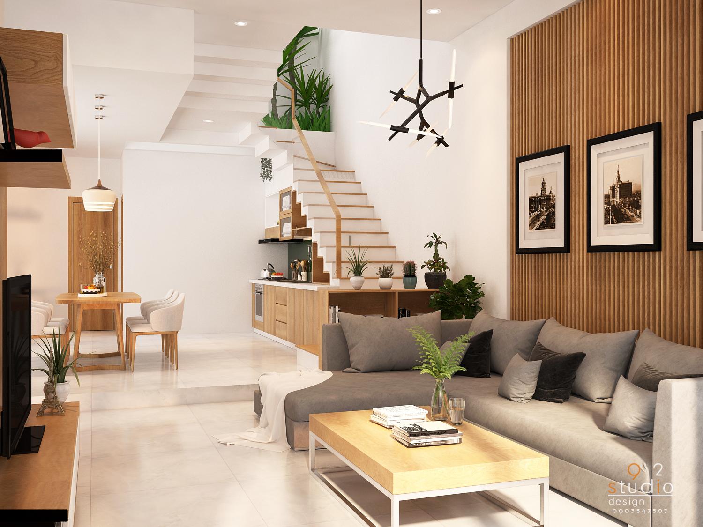 thiết kế Nhà Mặt Phố 2 tầng tại Đà Nẵng Hoa Minh House 2018 2 1550713513
