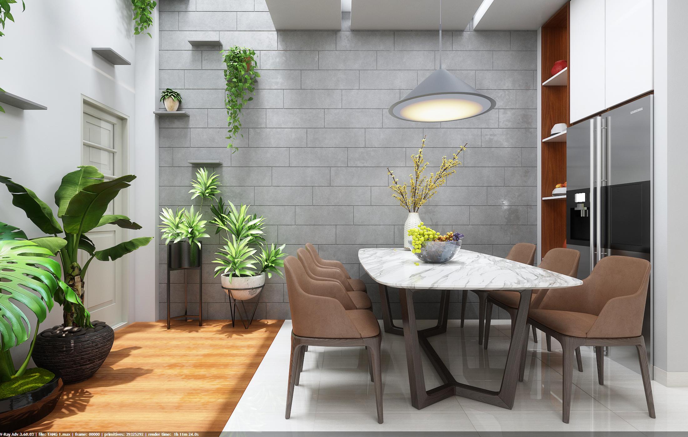 thiết kế nội thất Nhà Mặt Phố tại Đà Nẵng Loc House Interior 0 1548312549