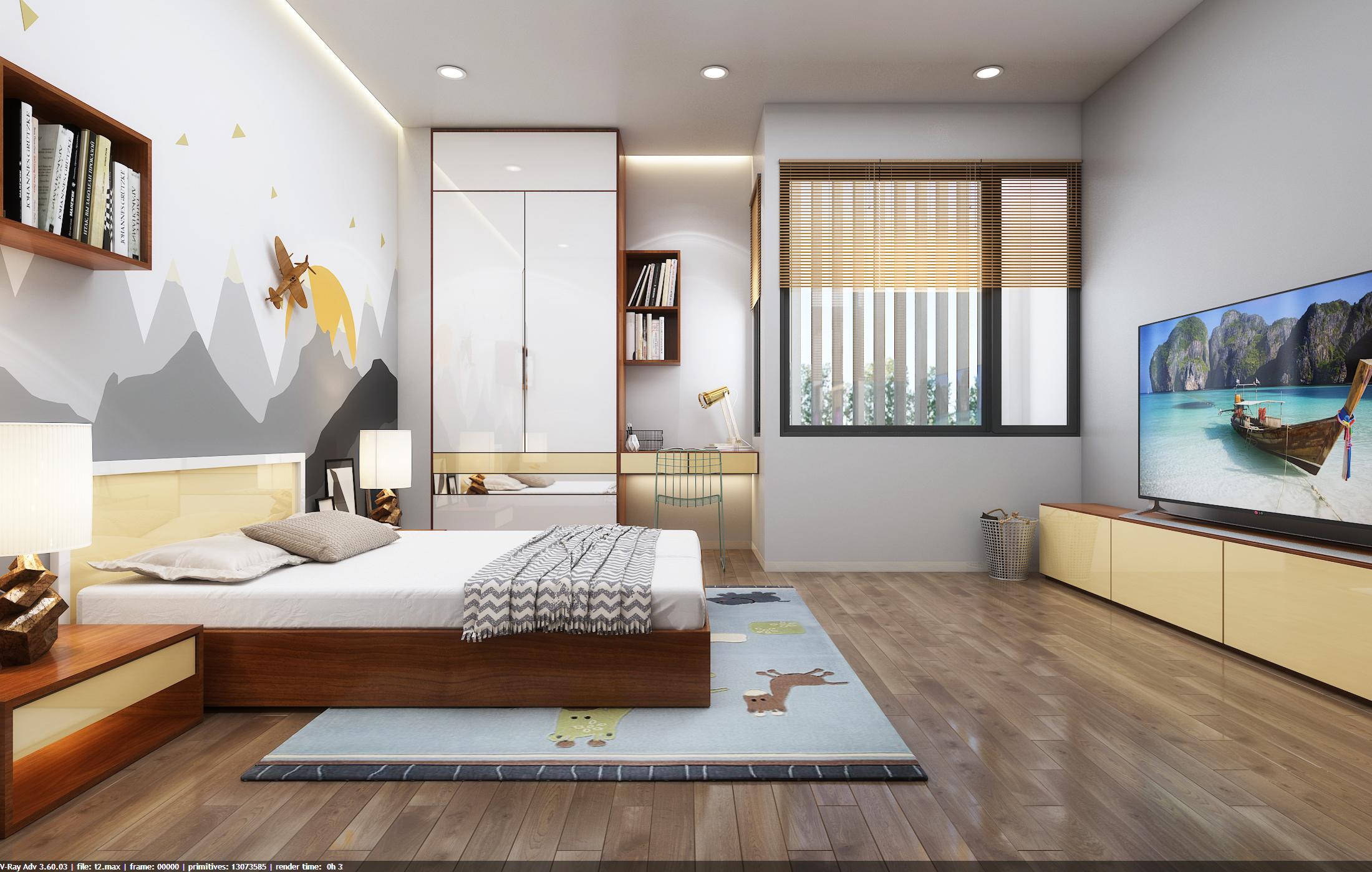 thiết kế nội thất Nhà Mặt Phố tại Đà Nẵng Loc House Interior 10 1548312557