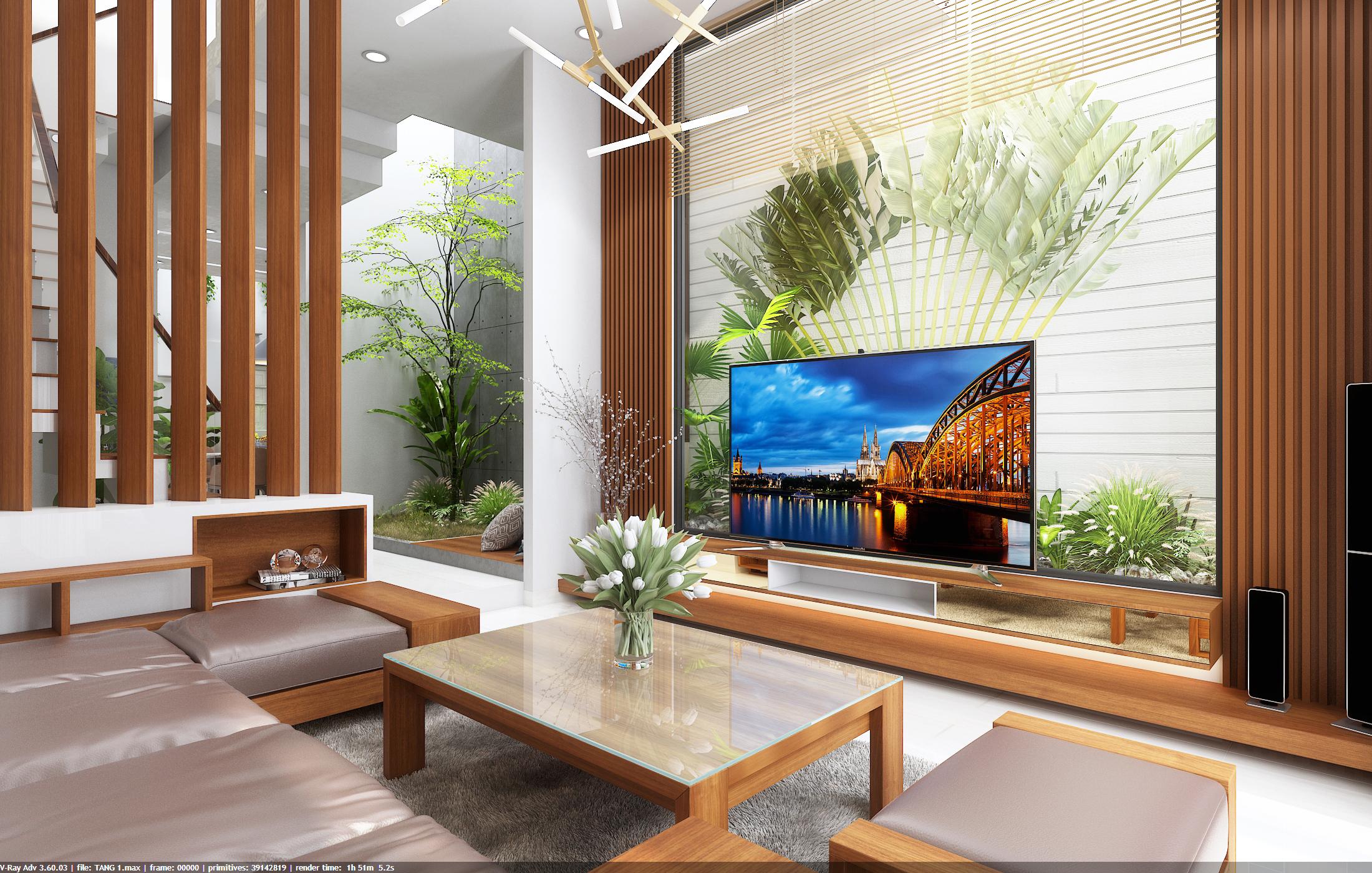 thiết kế nội thất Nhà Mặt Phố tại Đà Nẵng Loc House Interior 1 1548312550