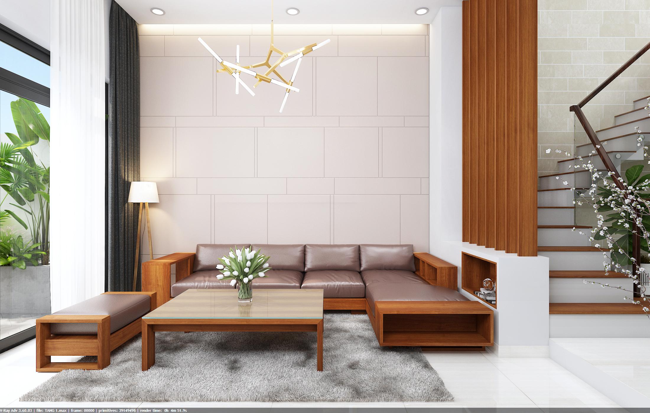 thiết kế nội thất Nhà Mặt Phố tại Đà Nẵng Loc House Interior 2 1548312547