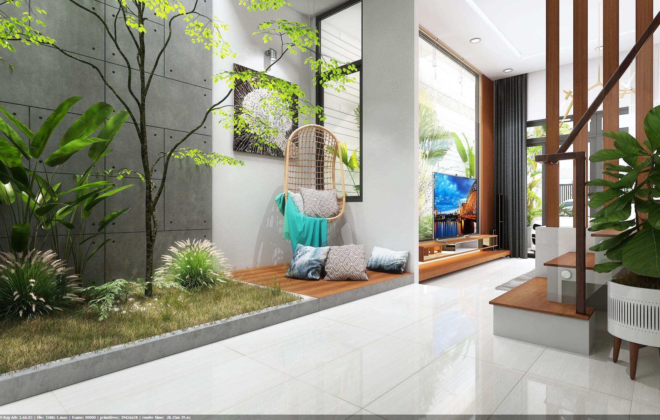 thiết kế nội thất Nhà Mặt Phố tại Đà Nẵng Loc House Interior 3 1548312552