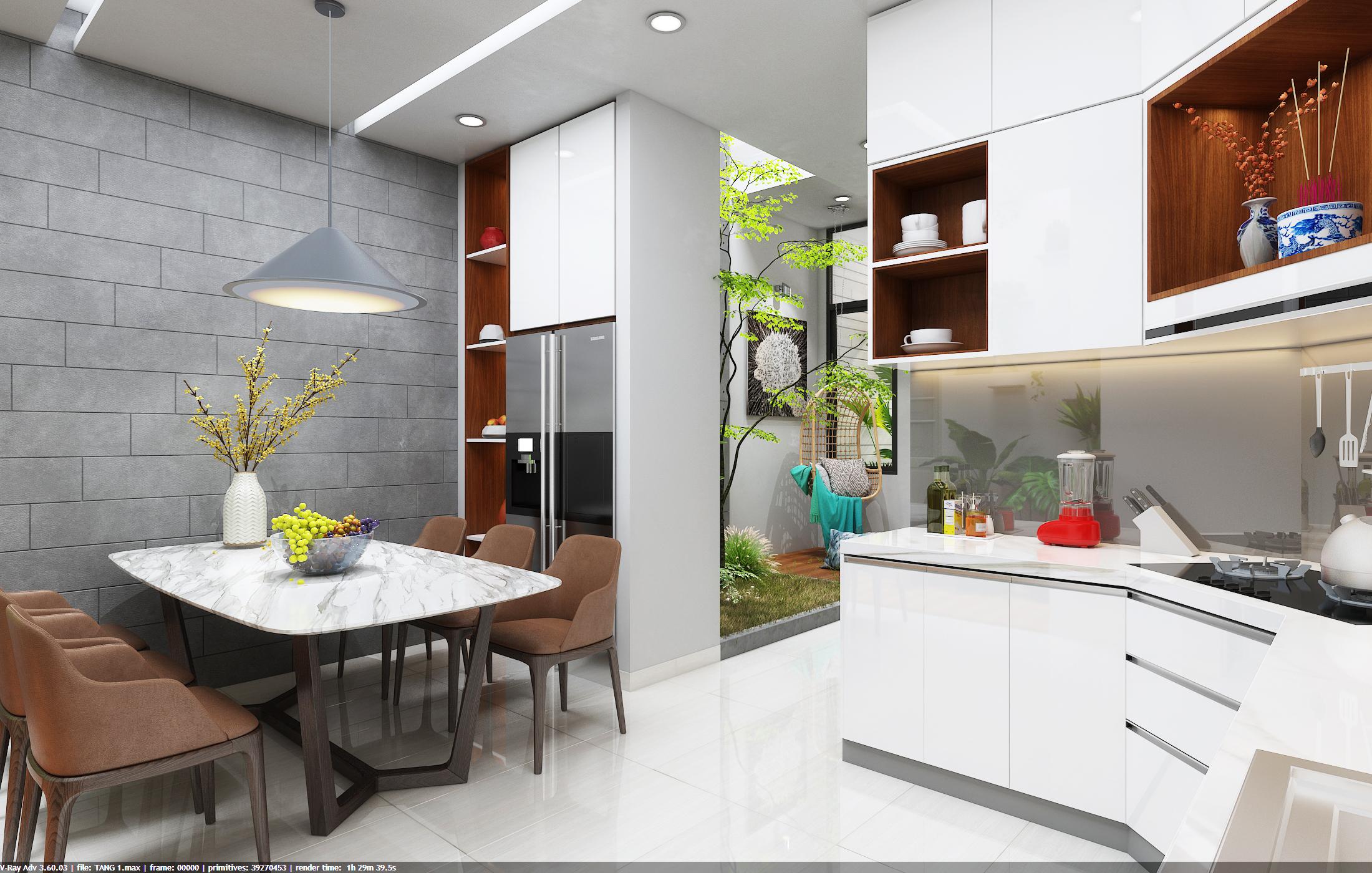 thiết kế nội thất Nhà Mặt Phố tại Đà Nẵng Loc House Interior 4 1548312553