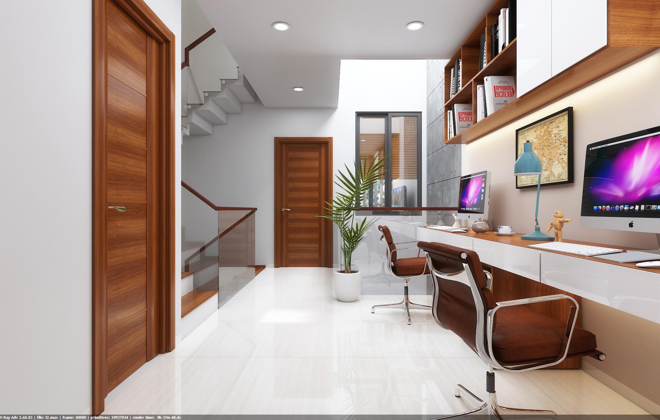 thiết kế nội thất Nhà Mặt Phố tại Đà Nẵng Loc House Interior 8 1548312556
