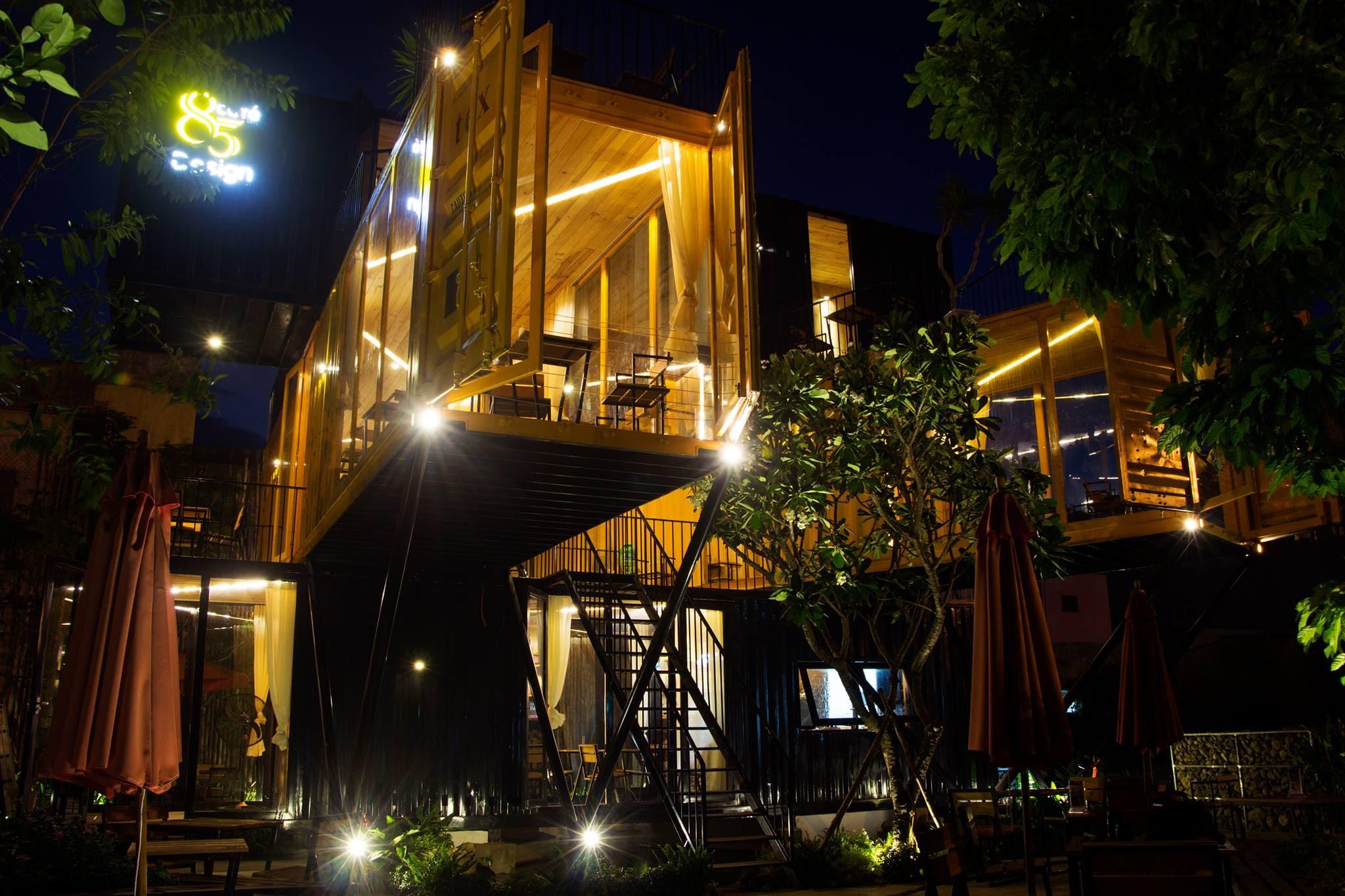thiết kế Cafe 85 Design Cafe10