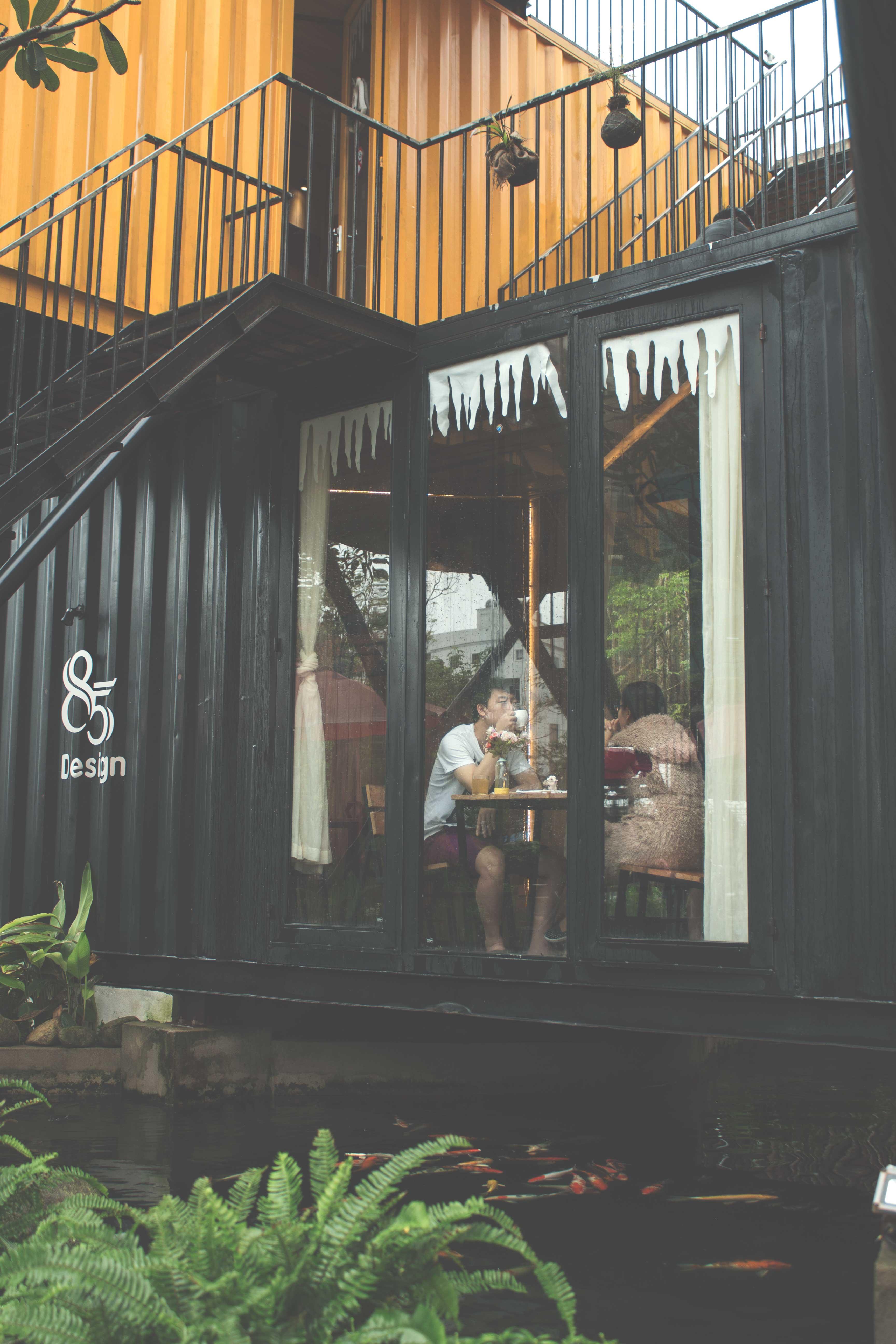 thiết kế Cafe 85 Design Cafe33
