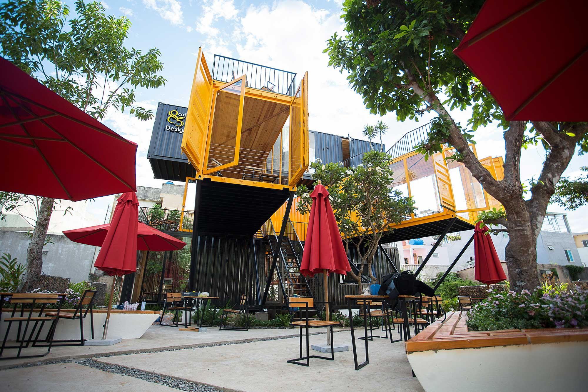 thiết kế Cafe 85 Design Cafe76