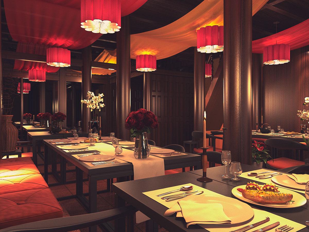 thiết kế nội thất Nhà Hàng tại Quảng Nam HOI AN RESTAURANT 3 1533018145