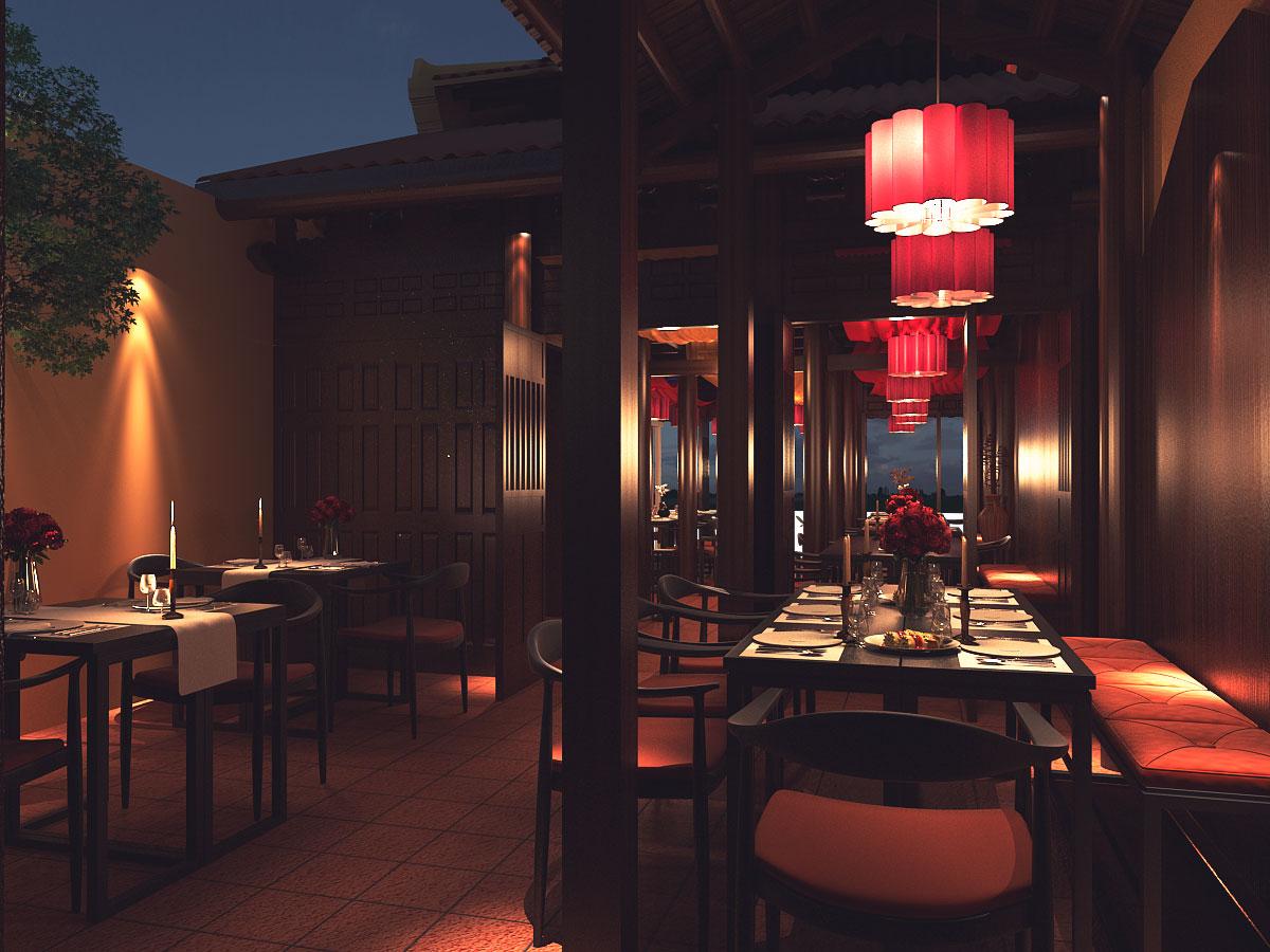 thiết kế nội thất Nhà Hàng tại Quảng Nam HOI AN RESTAURANT 5 1533018144