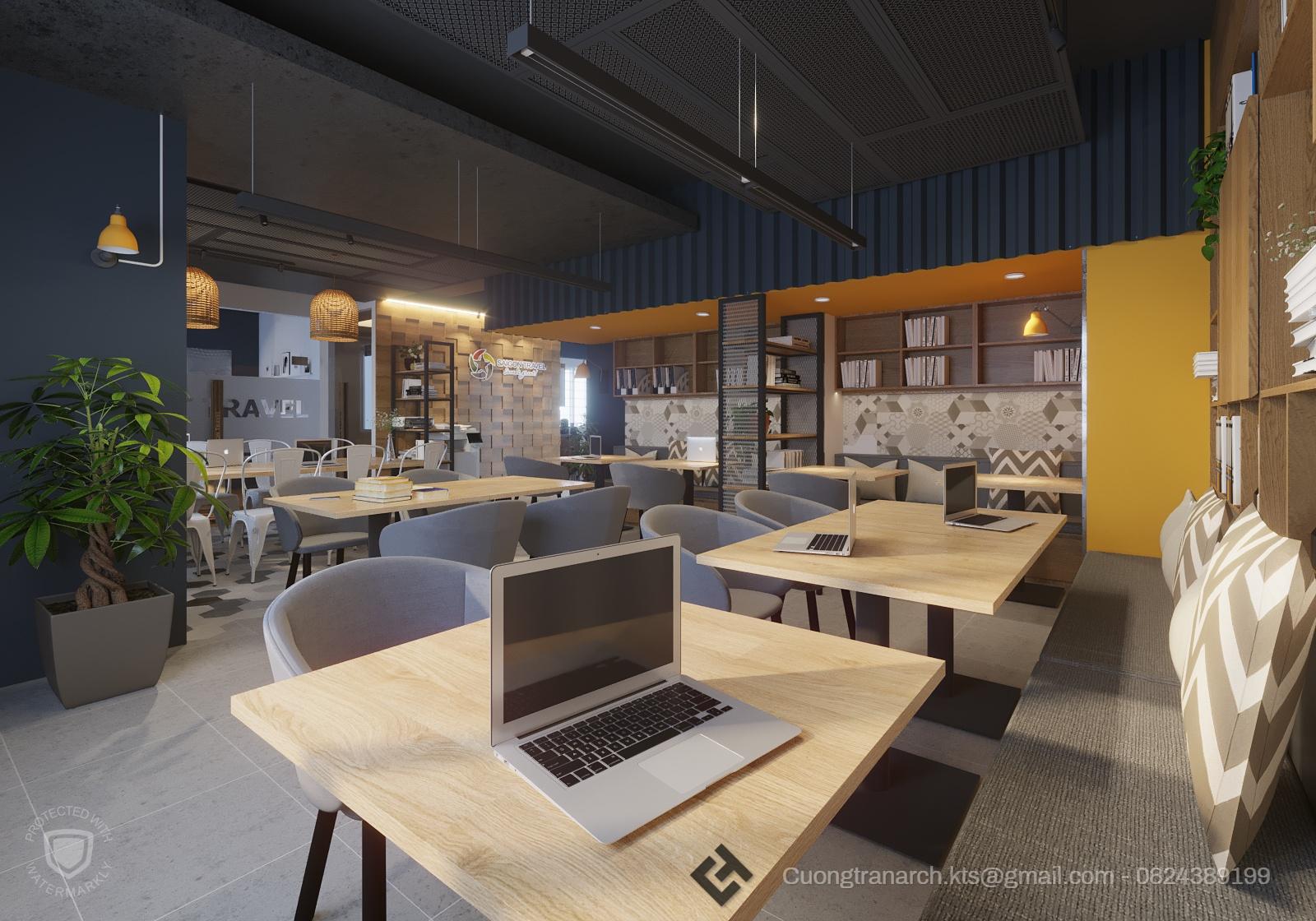 thiết kế nội thất Văn Phòng tại Hồ Chí Minh VĂN PHÒNG LÀM VIỆC CÔNG TY VIET TRAVEL - VIET TRAVEL OFFICE 0 1562142885