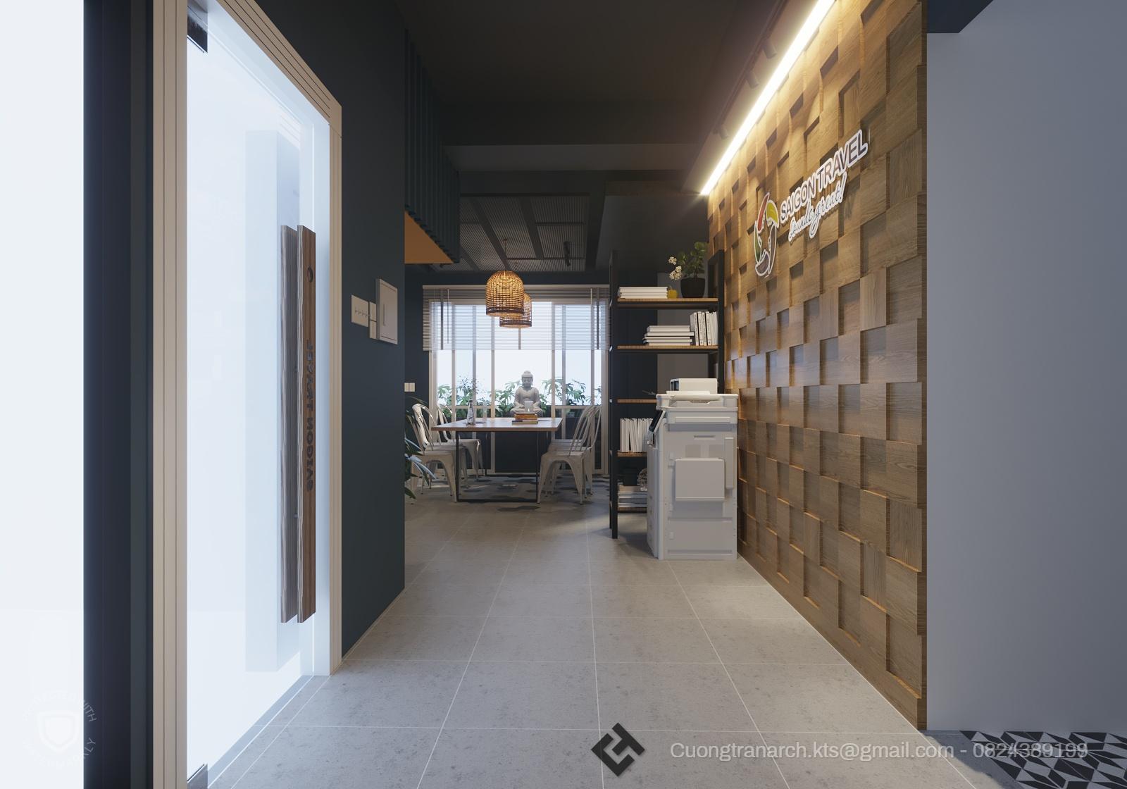 thiết kế nội thất Văn Phòng tại Hồ Chí Minh VĂN PHÒNG LÀM VIỆC CÔNG TY VIET TRAVEL - VIET TRAVEL OFFICE 2 1562142886
