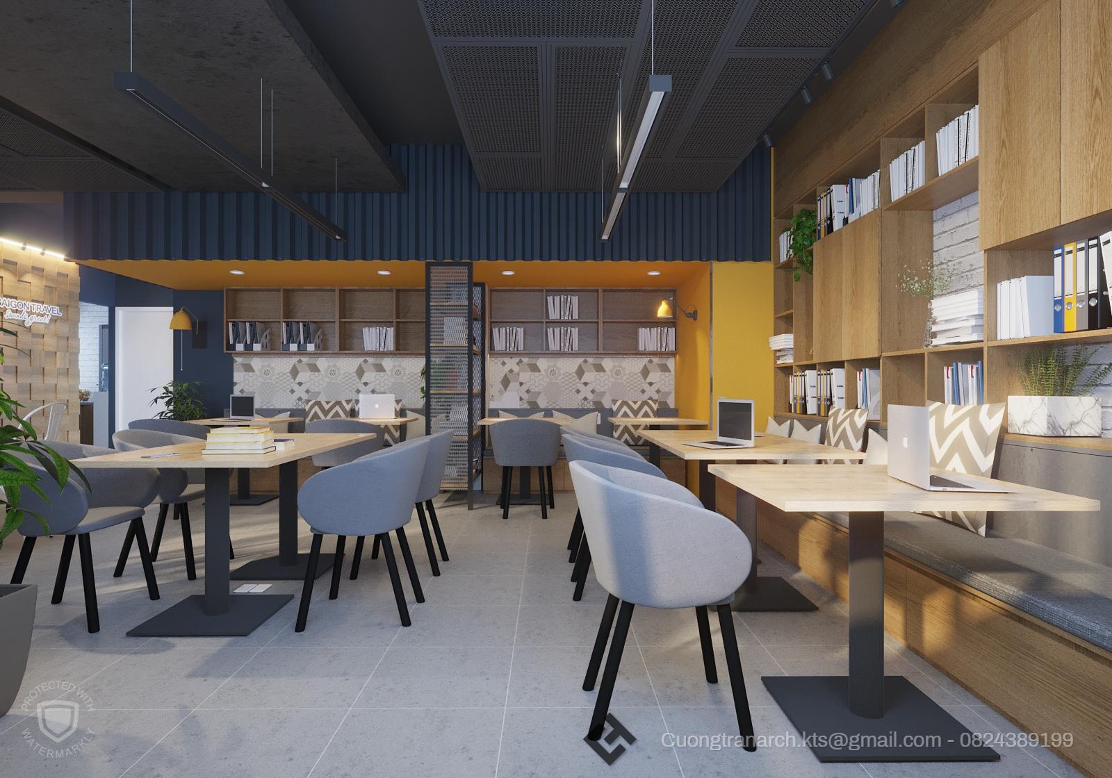 thiết kế nội thất Văn Phòng tại Hồ Chí Minh VĂN PHÒNG LÀM VIỆC CÔNG TY VIET TRAVEL - VIET TRAVEL OFFICE 3 1562142887