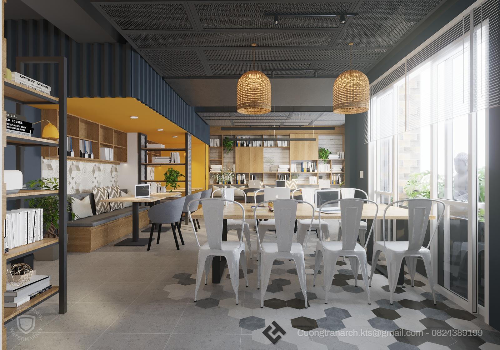 thiết kế nội thất Văn Phòng tại Hồ Chí Minh VĂN PHÒNG LÀM VIỆC CÔNG TY VIET TRAVEL - VIET TRAVEL OFFICE 4 1562142888