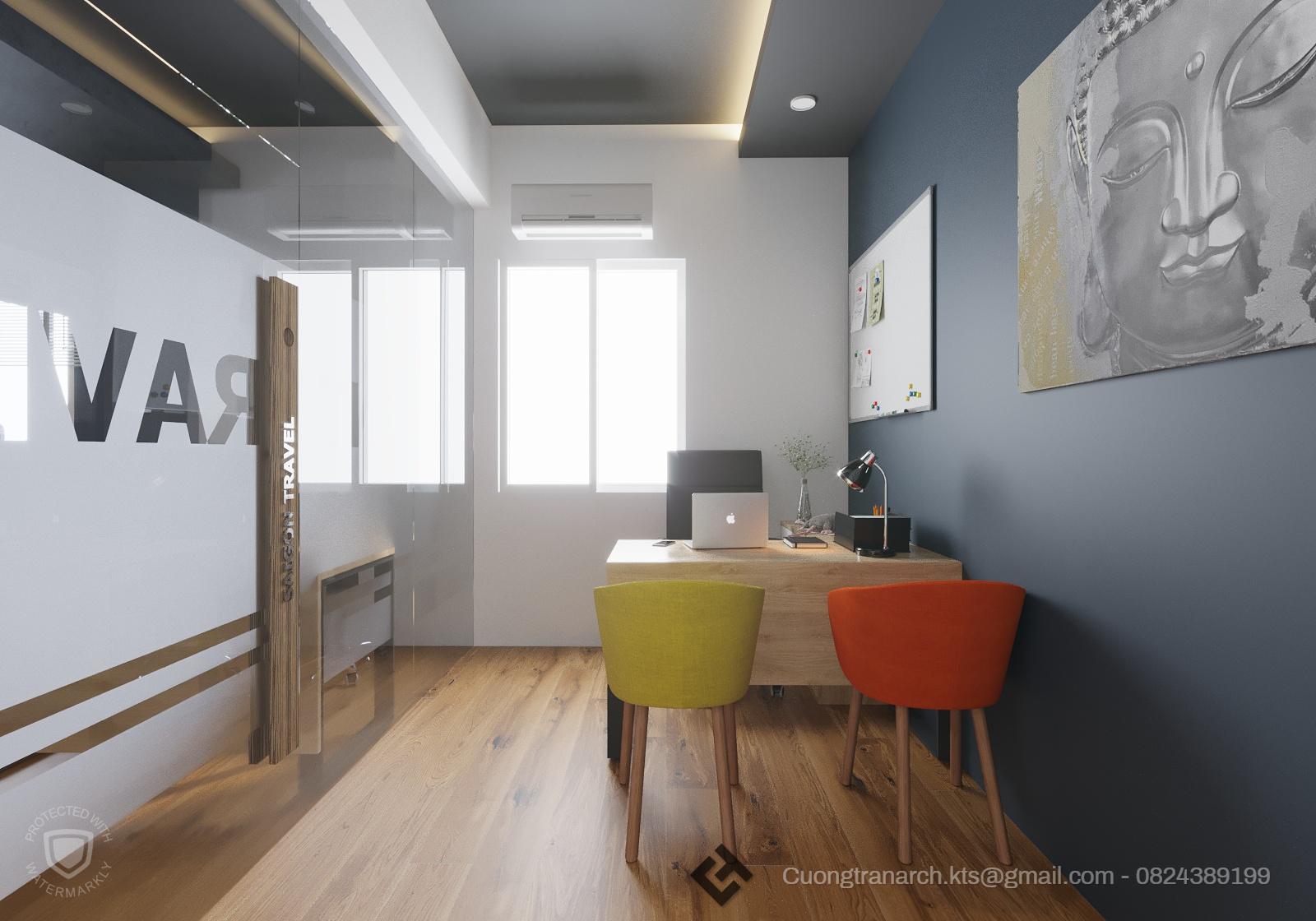 thiết kế nội thất Văn Phòng tại Hồ Chí Minh VĂN PHÒNG LÀM VIỆC CÔNG TY VIET TRAVEL - VIET TRAVEL OFFICE 6 1562142888