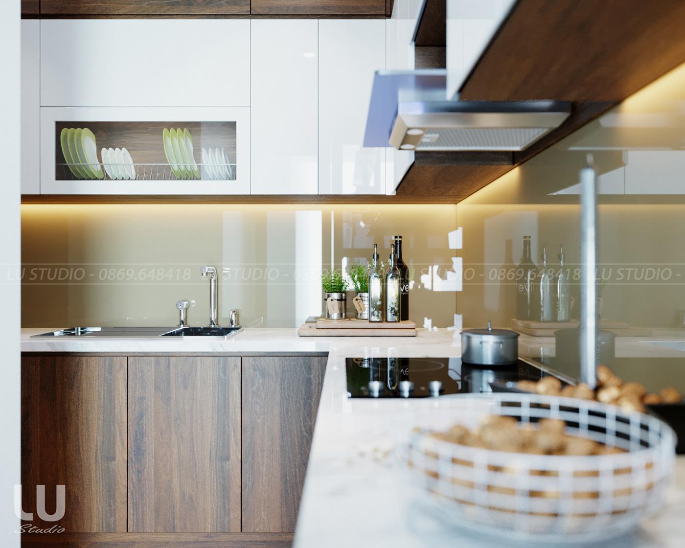 thiết kế nội thất chung cư tại Hà Nội Chung cư Season Avennue Thanh Xuân, Hà Nội 0 1533263507