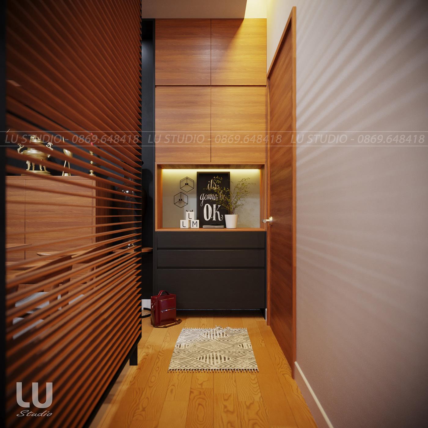 thiết kế nội thất chung cư tại Hà Nội Căn Hộ Season Avennue Phong Cách Hiện Đại - HN 5 1533263015