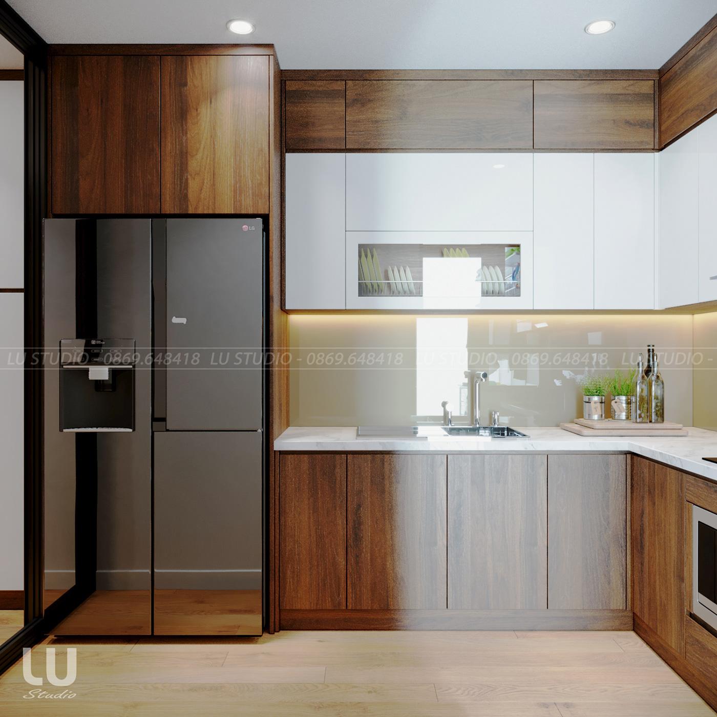 thiết kế nội thất chung cư tại Hà Nội Chung cư Season Avennue Thanh Xuân, Hà Nội 8 1533263513