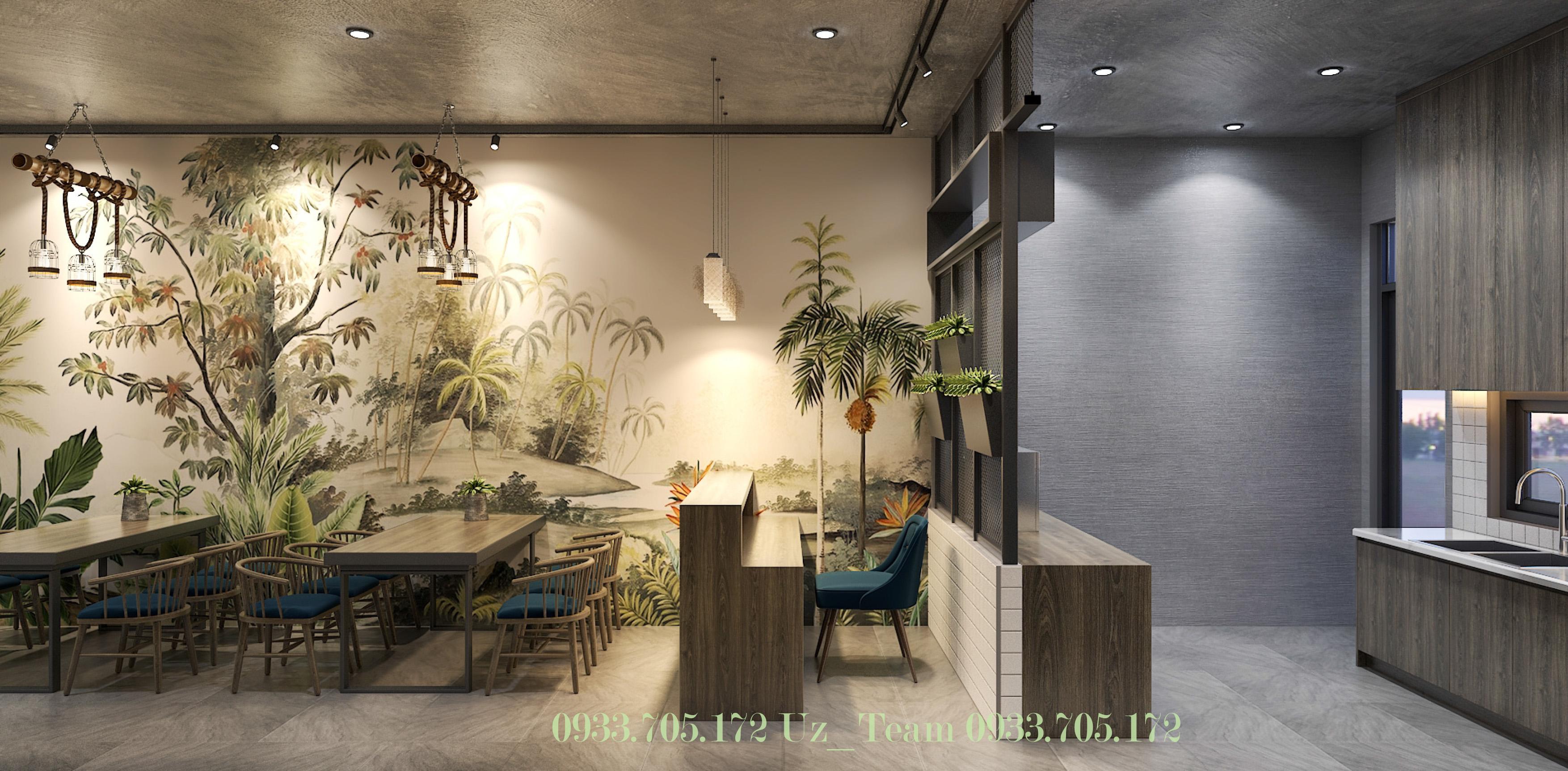 Thiết kế nội thất Cafe tại Hồ Chí Minh COFFEE HOÀNG VĨNH 1634052089 3