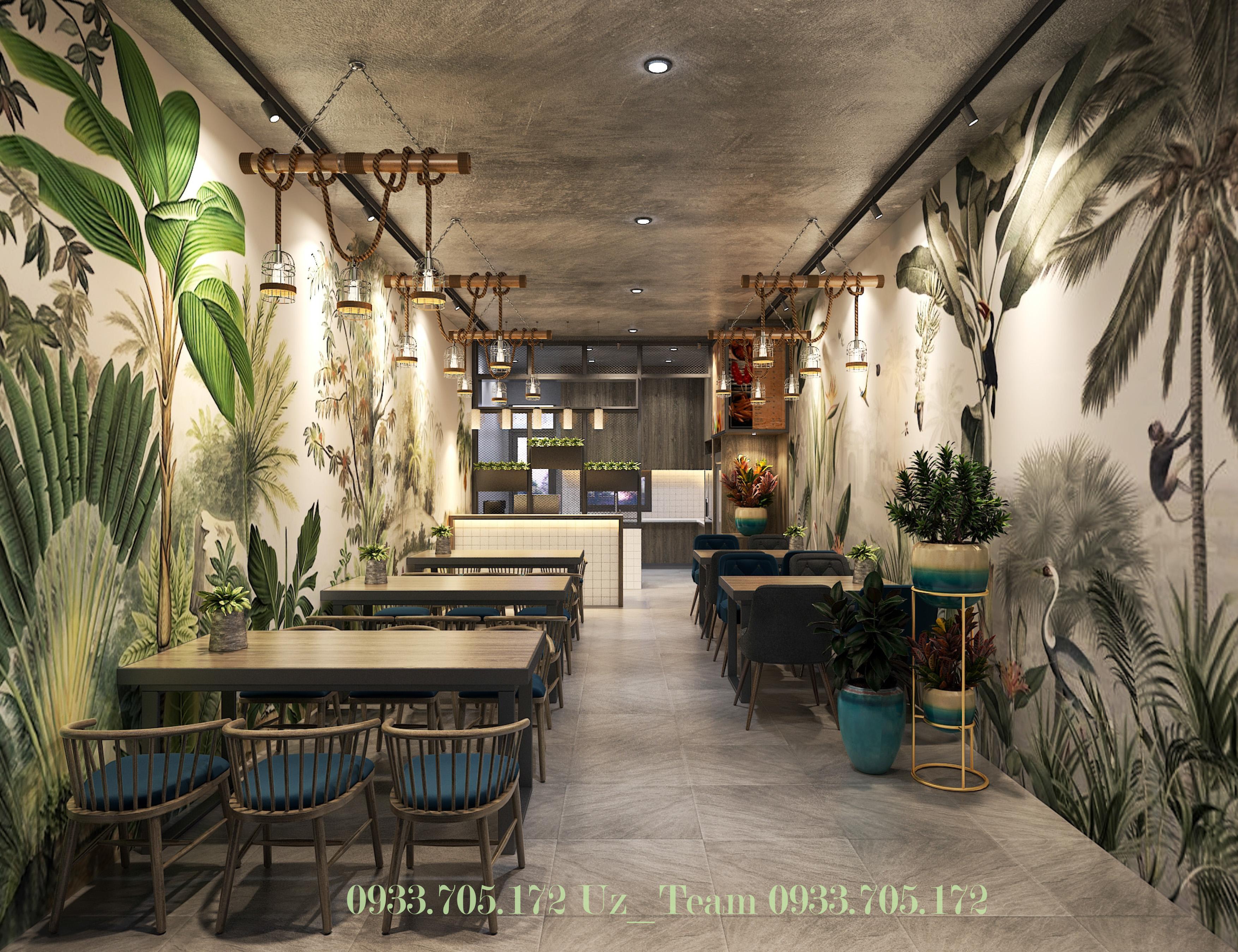 Thiết kế nội thất Cafe tại Hồ Chí Minh COFFEE HOÀNG VĨNH 1634052091 0