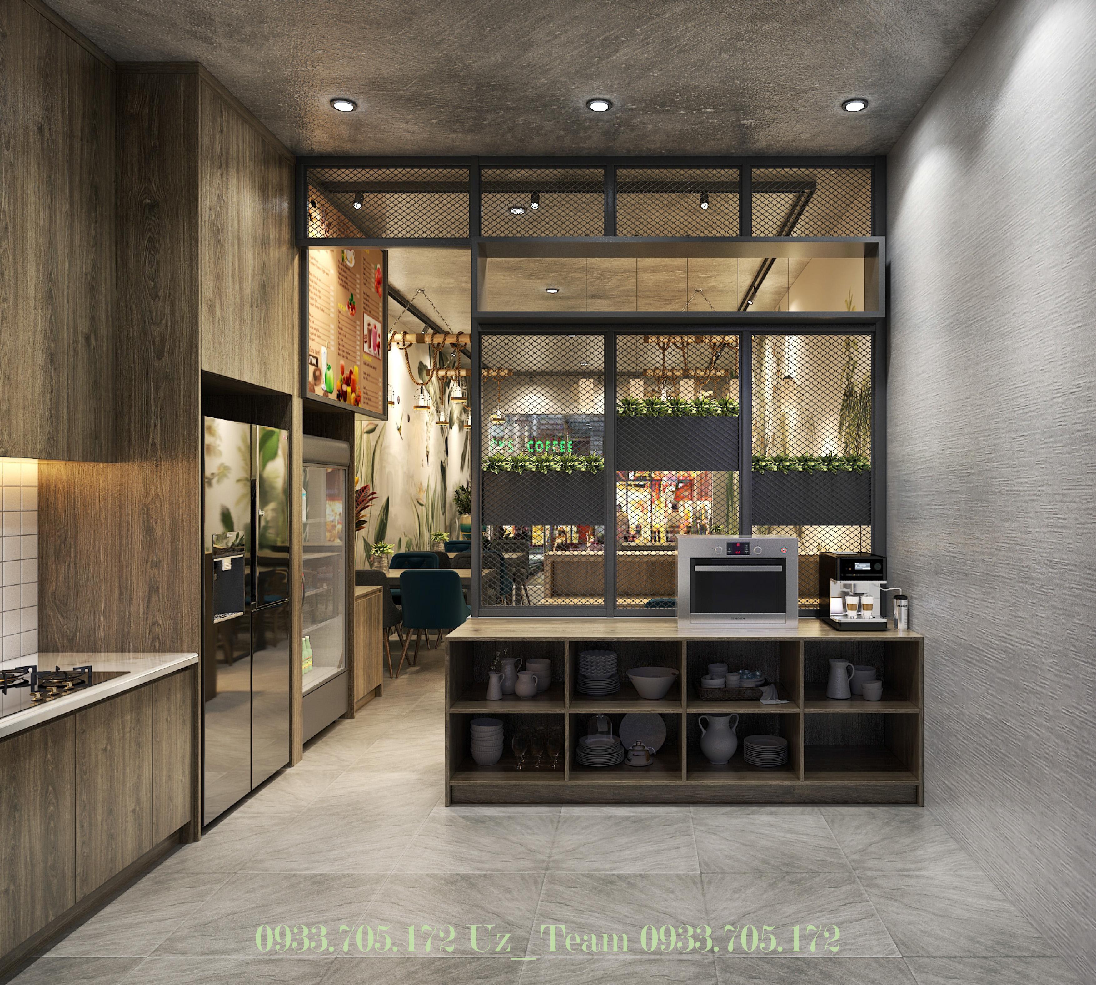 Thiết kế nội thất Cafe tại Hồ Chí Minh COFFEE HOÀNG VĨNH 1634052091 4