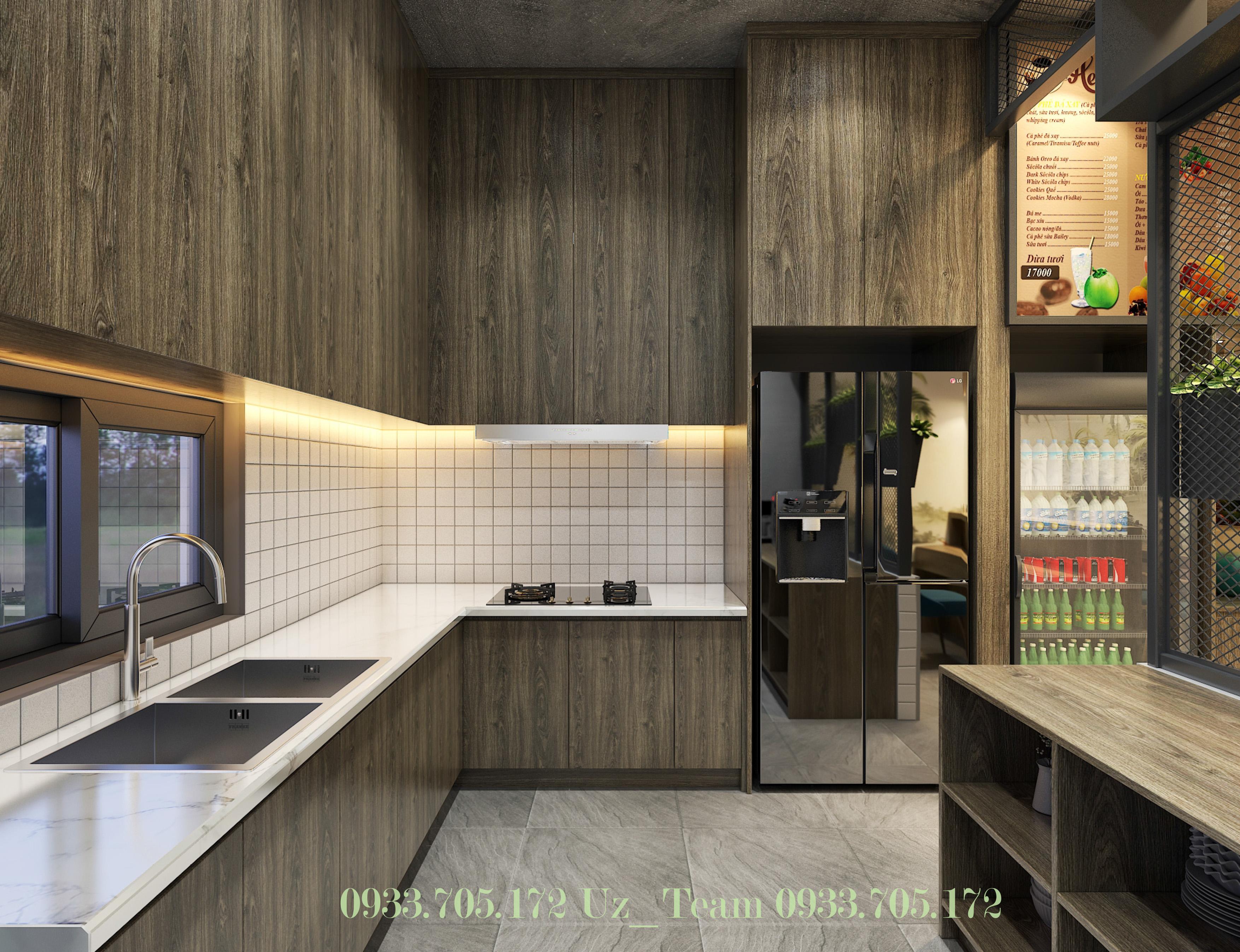 Thiết kế nội thất Cafe tại Hồ Chí Minh COFFEE HOÀNG VĨNH 1634052091 5