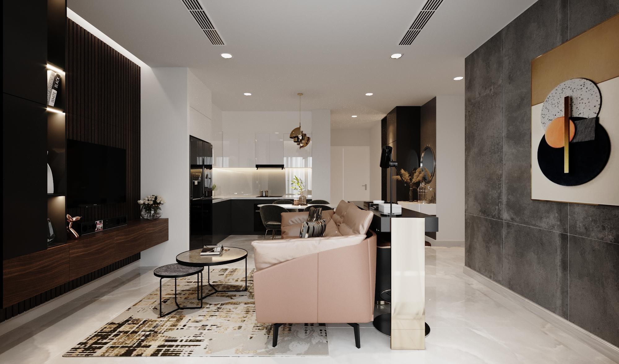 Thiết kế nội thất Chung Cư tại Hồ Chí Minh Vinhomes Bason 1575023164 0