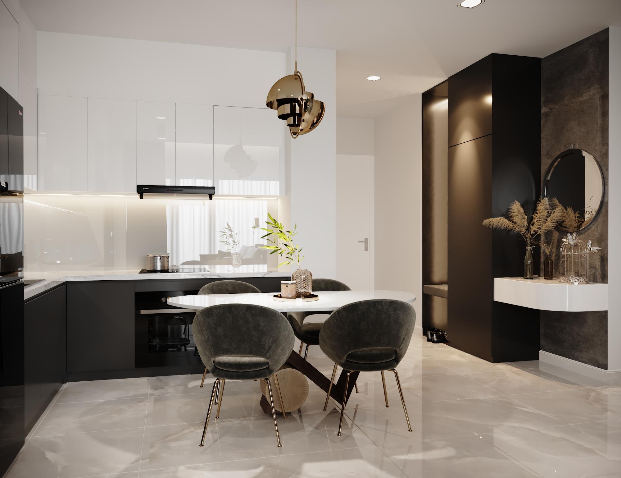 Thiết kế nội thất Chung Cư tại Hồ Chí Minh Vinhomes Bason 1575023164 1