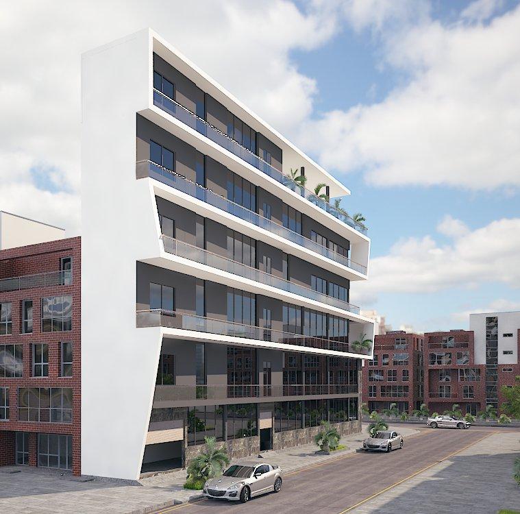 thiết kế Nhà Mặt Phố 6 tầng tại Bắc Ninh nhà ở và showroom bán hàng 0 1554485827