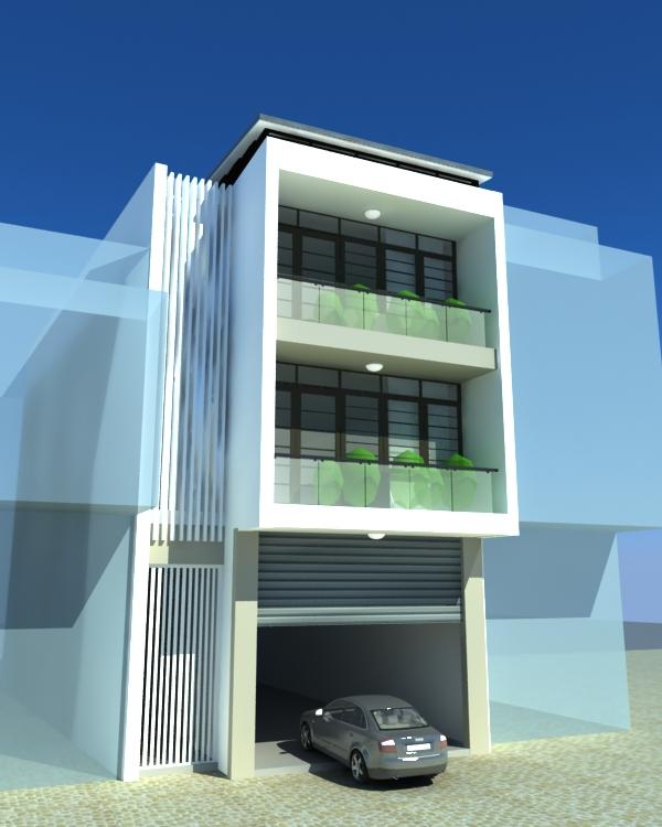 thiết kế Nhà Mặt Phố tại Lạng Sơn Nhà phố Lạng Sơn 6 1548596912