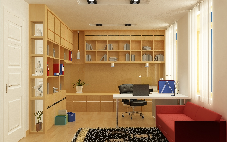 thiết kế nội thất Nhà Mặt Phố tại Hà Nội Nội thất nhà phố 7 1548597408